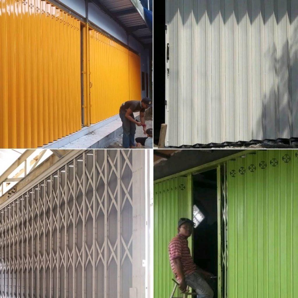 Proses Pengerjaan Pintu Sedikit Lebih Lama 1024x1024 - Keunggulan Pintu Toko Harmonika Kualitas Super