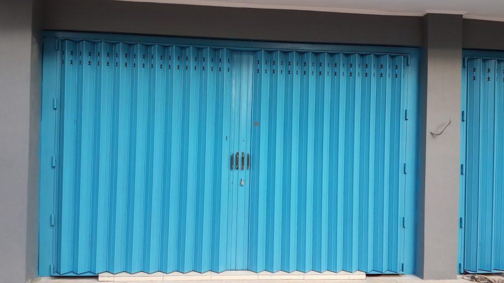 Sistem Pemasangan Pintu Harmonika